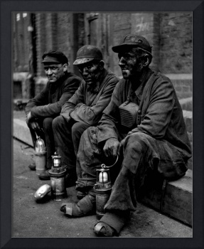 Coal Miners Dirty Job Vintage