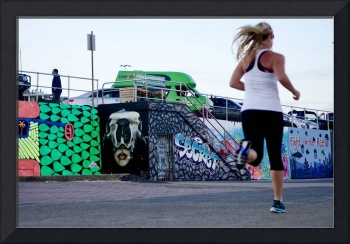Runner at Bondi Beach