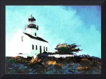 Old Point Loma Light House by Riccoboni