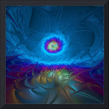Fantasy, abstract fractals art