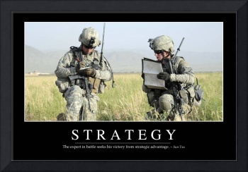 Strategy: Inspirational Quote and Motivational Pos