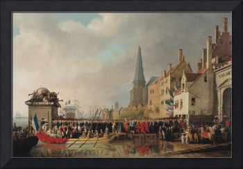 Entry of Bonaparte, as First Consul, into Antwerp