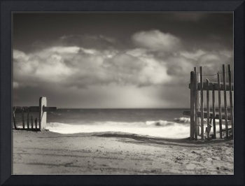 Beach Fence - Wellfleet Cape Cod
