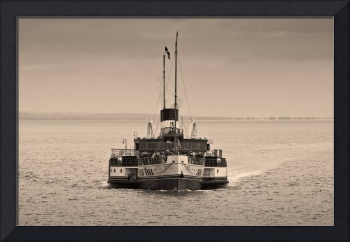 The Waverley Paddle Steamer Sepia
