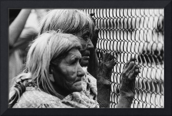 Homage, Edward Weston, Apache elders, rodeo