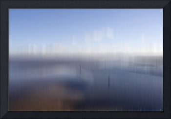 Blurred Severn Estuary