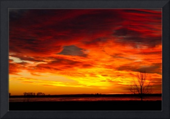Union Reservoir Epic Sunrise Longmont Colorado Bou