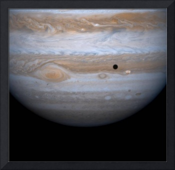 PIA02860: Io in Front of Jupiter