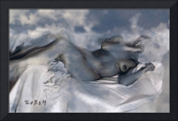 Nude in clouds