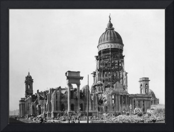 San Francisco City Hall in Ruins, 1906