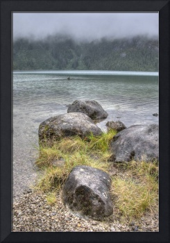 Baranof Lake in the Rain