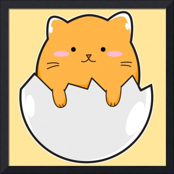 Yellow Cat Egg