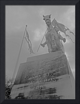 Joan of Arc in the Rain, New Orleans