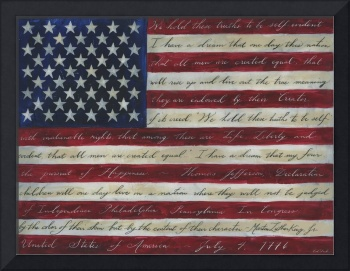 American Flag I Have a Dream II
