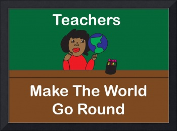 Black Teachers Make the World Go Round