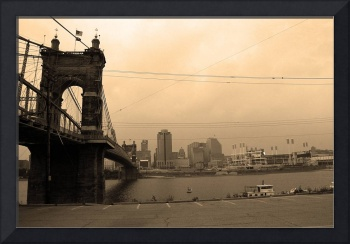 Cincinnati - Roebling Bridge 7