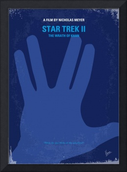 No082 My Star Trek - 2 minimal movie poster
