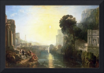 Dido Building Carthage, 1815, by JMW Turner