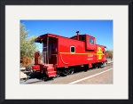 Old Red Caboose 0024 by Jacque Alameddine