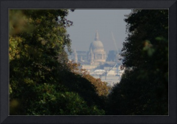 ST Pauls from Richmond park