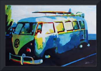 Surf Bus Series - The Blue Bus