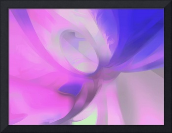Plum Juices Pastel Abstract