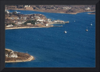 Stage Harbor Aerial - Chatham, Cape Cod
