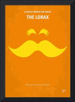 No261 My THE LORAX minimal movie poster