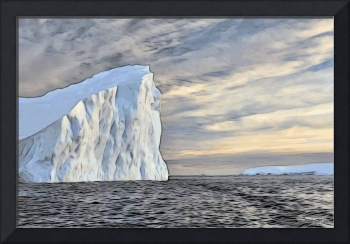 An iceberg near Palmer Station.