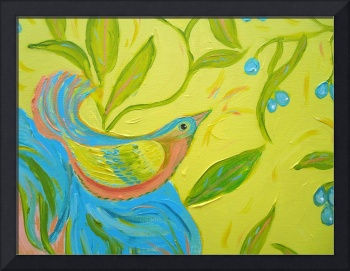 Lost in a Trinity of Divine Thought – God bird