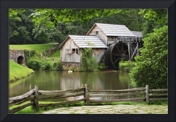 Mabry Mill, Blue Ridge Parkway National Park, Virg