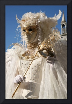 White Feathered Bride