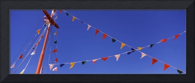 Pennants on a boat Tarpon Springs Pinellas County