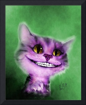 Alice in Wonderland Cheshire Cat as Kitten