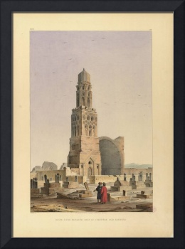 Pascal Xavier Coste, Ruined Mosque in the Saïd Enf