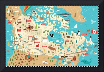 Map of Canada by Nate Padavick