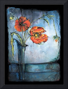 Poppies - Ikebana