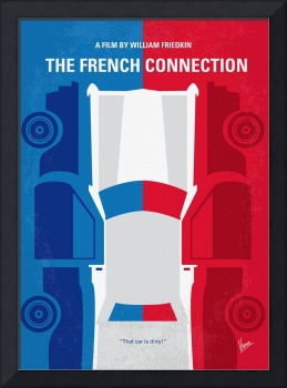 No982 My The French Connection minimal movie poste