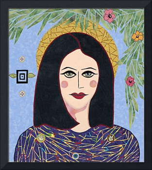 Mary -  fabric mosaic
