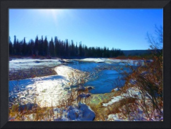 The Elbow River at Griffin Park2