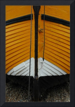 Yellow fishing boat