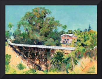 Quince Street Bridge over Maple Canyon
