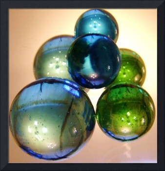 Mirrored Marbles