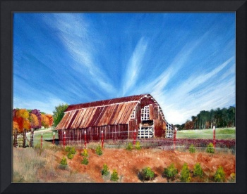 Country Barn with Glroy Rays
