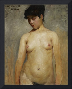 Nude Girl, 1886 (oil on canvas)