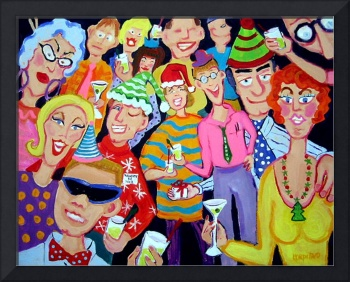 Santaclaustrophobia - Christmas Office Party Santa
