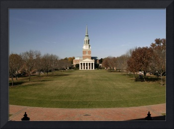 The Quad & Wait Chapel, Wake Forest University