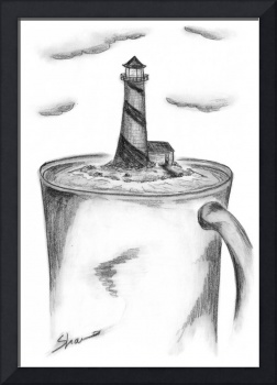 Coffee Cup Lighthouse