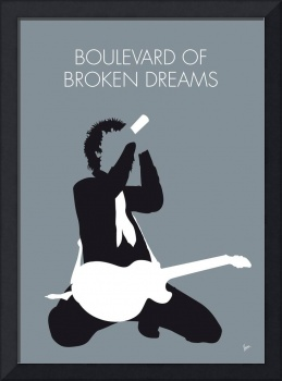 No117 MY Green Day Minimal Music poster
