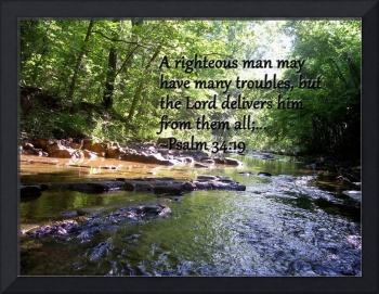 Running Stream with Psalm 34:19
